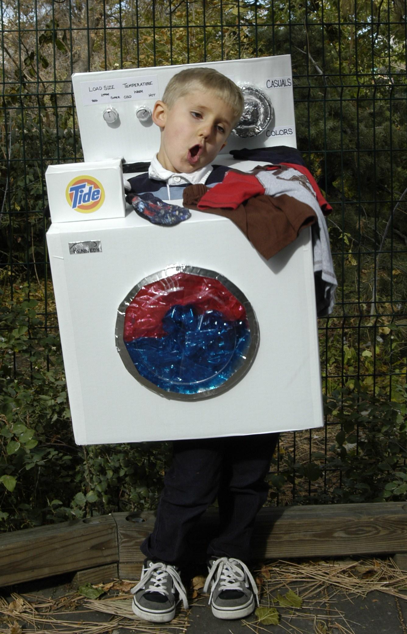 washing machine costume